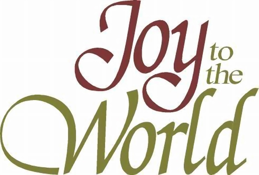 Clipart joy to the world the lord has come transparent stock JOY TO THE WORLD – Merry Christmas, World! transparent stock
