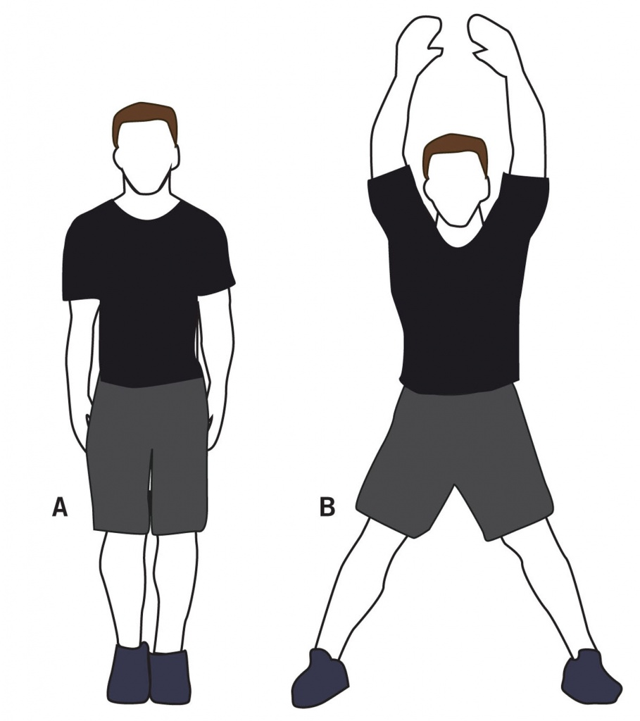 Clipart jumping jacks png library stock The History of the Jumping Jack – Physical Culture Study png library stock
