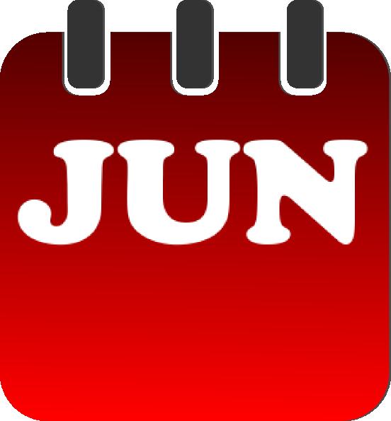 Clipart june calendar picture June calendar page clipart - ClipartFest picture