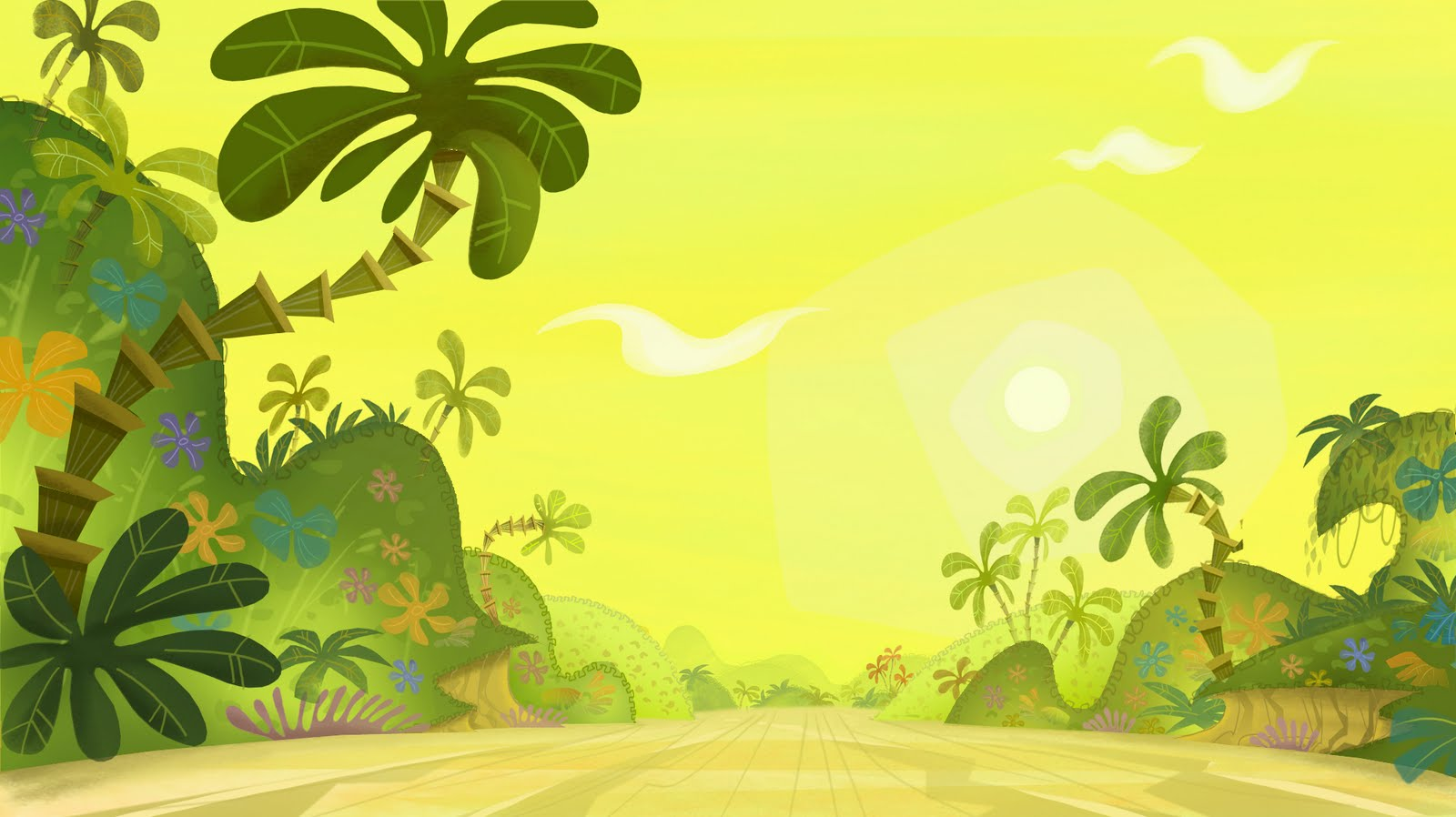 Jungle background clipart jpg free stock Jungle For Kids Wallpaper Wide - Jungle Clipart Background (#153307 ... jpg free stock
