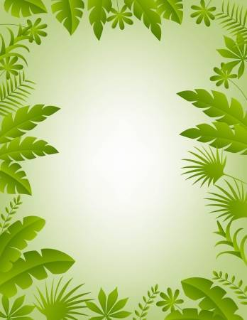 Clipart jungle background vector black and white library Jungle background clipart 2 » Clipart Portal vector black and white library