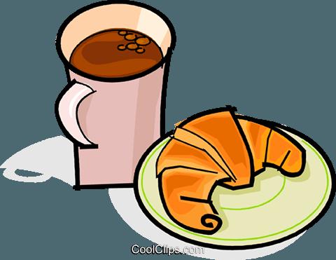 Clipart kaffee trinken image free download Kaffee und Gipfeli Vektor Clipart Bild -vc061863-CoolCLIPS.com image free download
