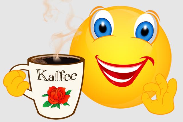 Clipart kaffee trinken. Clipartfest smileykaffeetrinken
