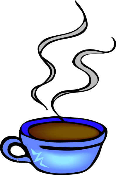 Tazza di caffe clip. Clipart kaffee trinken