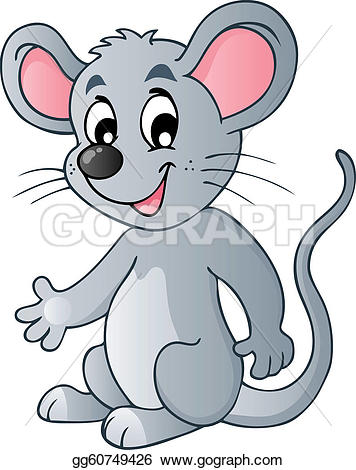 Clipart katz und maus jpg free stock Mouse Illustration Clip Art - Royalty Free - GoGraph jpg free stock