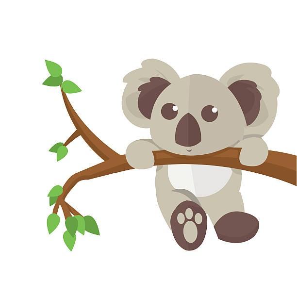 Clipart kawala vector library library Koala Clipart - Clip Art vector library library