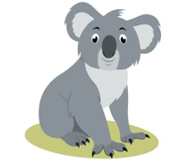Clipart koala clipart free download Free Koala Clipart - Clip Art Pictures - Graphics - Illustrations clipart free download