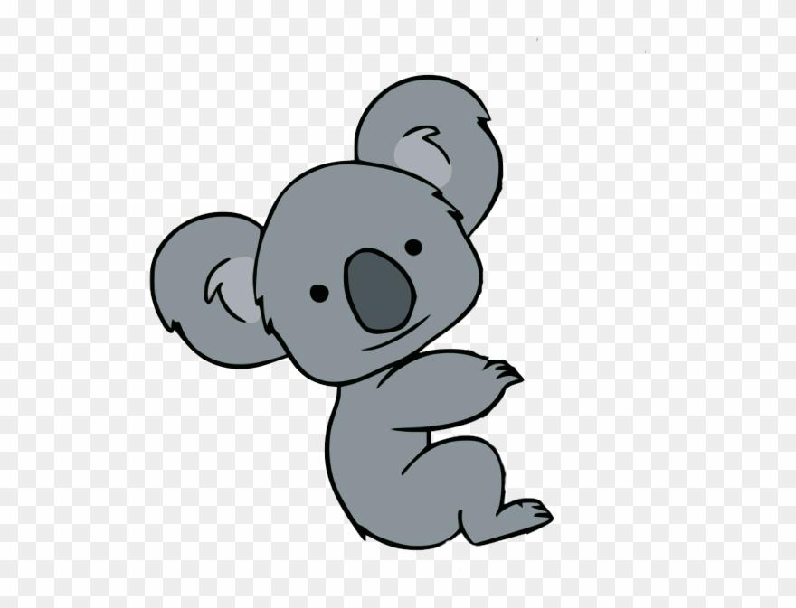 Clipart koalas banner free Koala Clipart Athlete - Koala Cartoon Easy Drawing - Png Download ... banner free