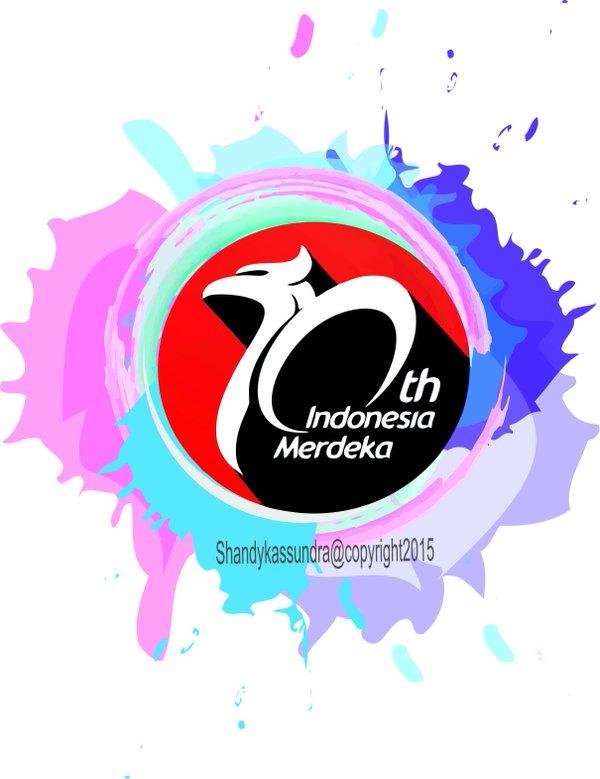 Clipart kemerdekaan indonesia image black and white stock Shandy_kassundra on Twitter: