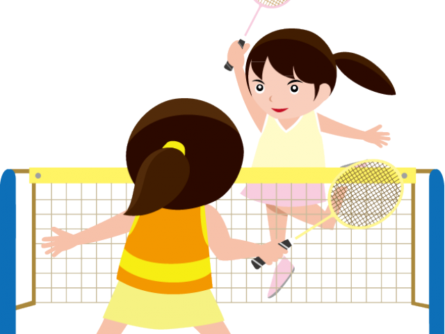 Clipart kid playing basketball image royalty free library Badminton Clipart - Free Clipart on Dumielauxepices.net image royalty free library