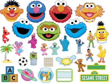 Clipart kids character heads clipart royalty free library 17 Best ideas about Sesame Street Characters on Pinterest | Elmo ... clipart royalty free library