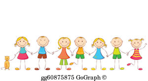 Clip art royalty gograph. Free clipart children holding hands