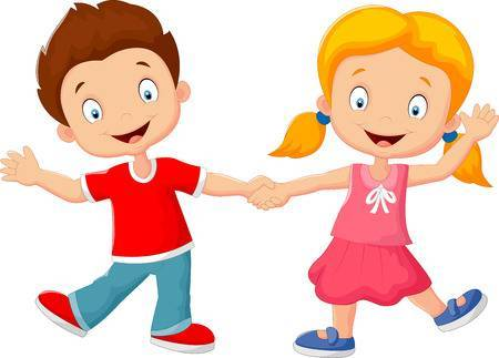 Clipart kids holding hands clip royalty free download Clipart kids holding hands » Clipart Portal clip royalty free download