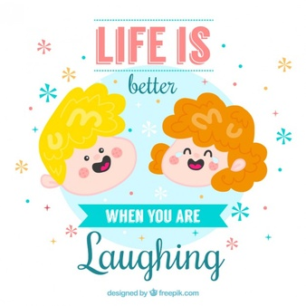 Clipart kids laughing. Vectors photos and psd