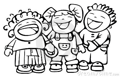 Clipart kids laughing svg black and white stock Clipart kids laughing sound - ClipartFest svg black and white stock