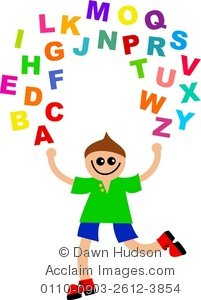 Clipart kids letters picture royalty free stock Alphabet Clipart For Kids | Clipart Panda - Free Clipart Images picture royalty free stock