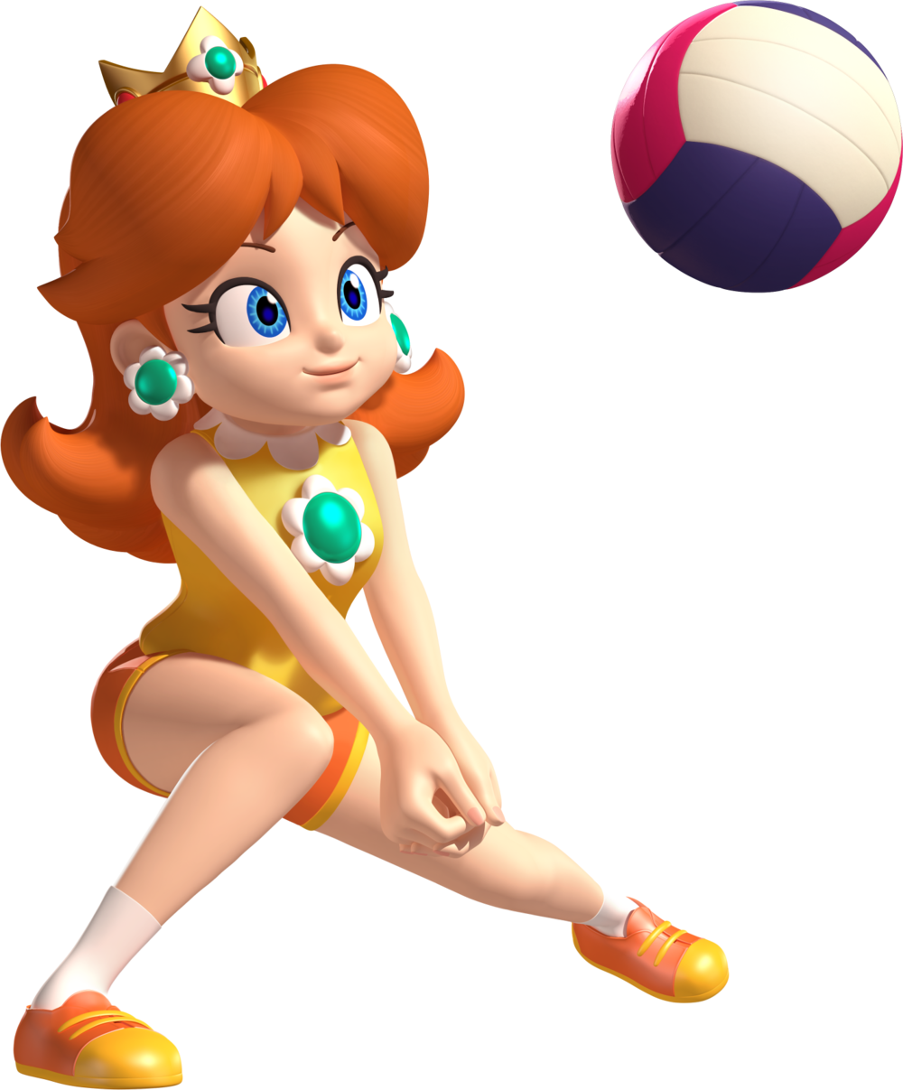 Clipart kids playing volleyball baseball games jpg free stock Princess Peach (Sports) | Pinterest | Sports mix, Princess daisy and ... jpg free stock