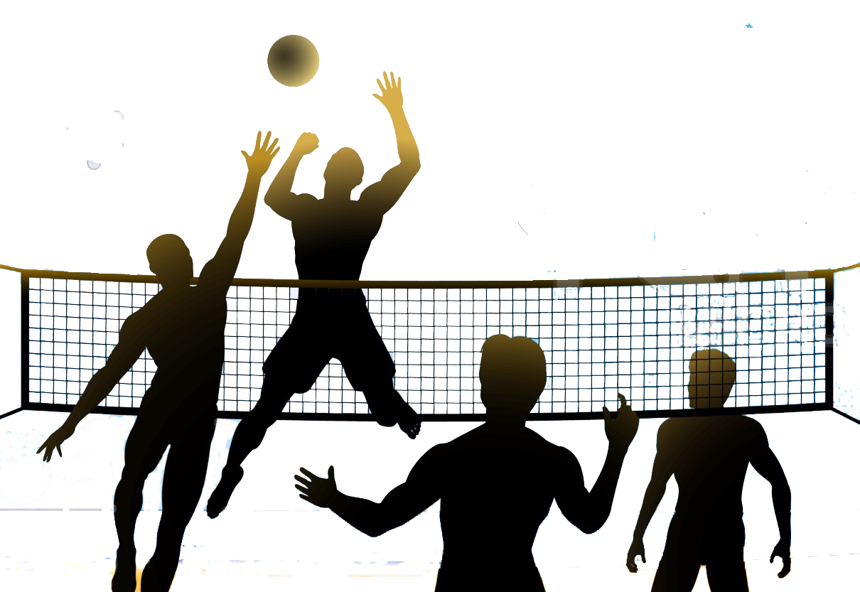 Clipart kids playing volleyball baseball games jpg free stock 28+ Collection of Volleyball Match Clipart | High quality, free ... jpg free stock