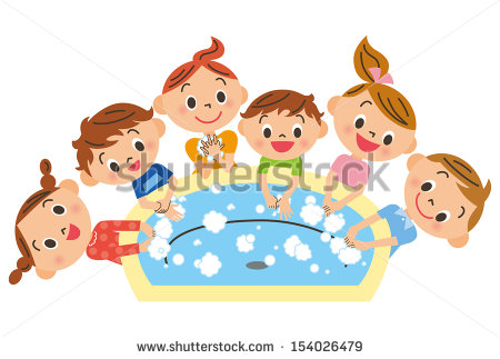 Clipart kids washing hands graphic royalty free download Vector children hand washing free vector download (5,171 Free ... graphic royalty free download