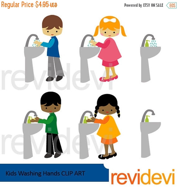 Clipart kids washing hands graphic free 45% OFF SALE Kids washing hands clipart kids and by revidevi graphic free