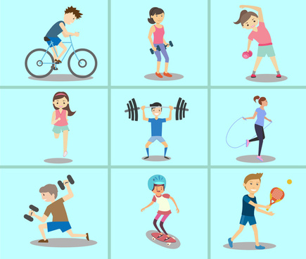 Clipart kids with blocks black and white Vector sport for free download about (875) Vector sport. sort by ... black and white
