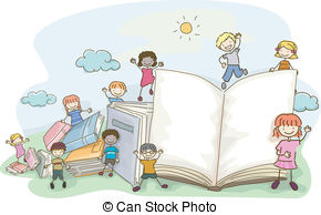 Clipart kids with books svg stock Kids book Illustrations and Stock Art. 23,118 Kids book ... svg stock