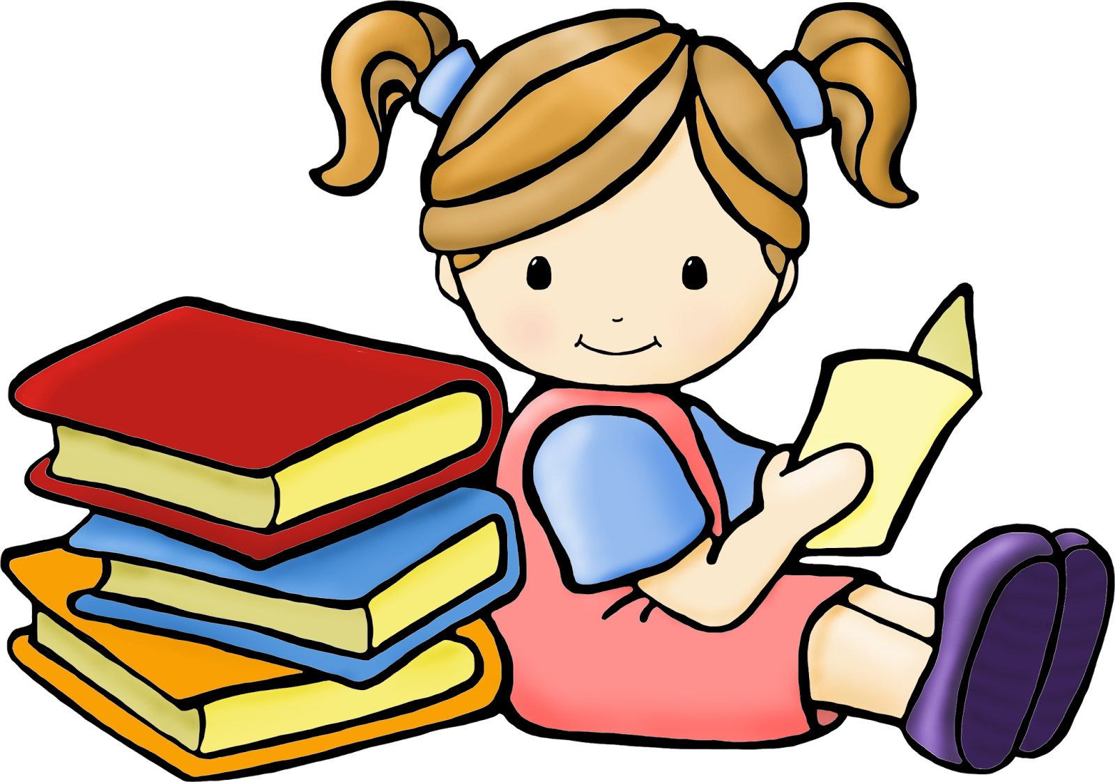 Children book clipart picture free download 28+ Collection of Kids Reading Books Clipart | High quality, free ... picture free download