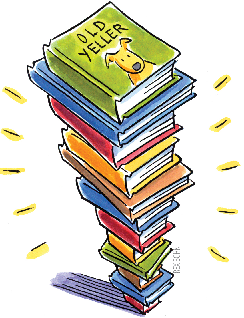 Clipart kids with books graphic transparent library Clipart kids and books - ClipartFest graphic transparent library