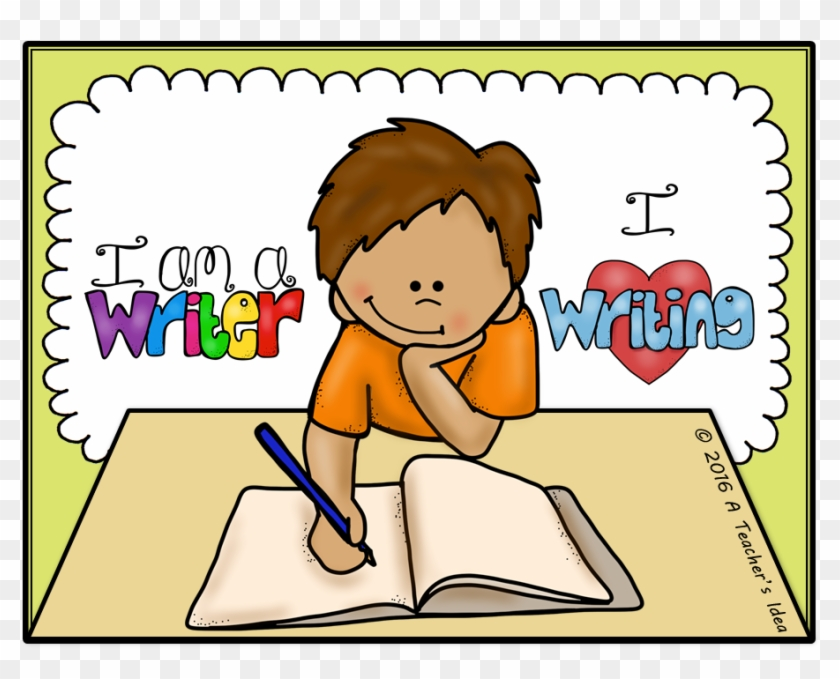 Writing clipart for kids black and white Child Writing Clipart - Children Writing Clip Art, HD Png Download ... black and white