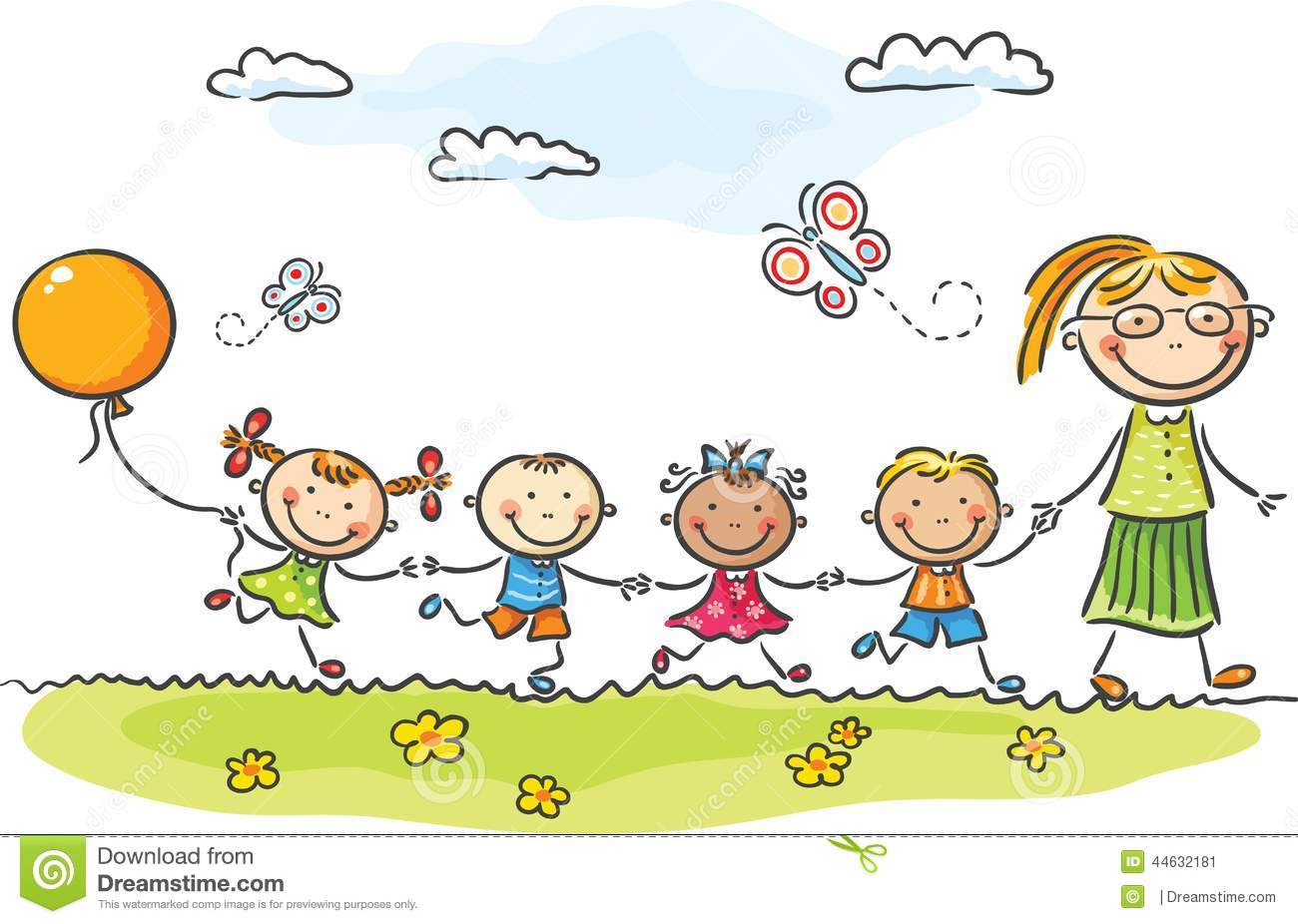 Clipart kindergarten svg library download Kindergarten pictures clip art - ClipartFest svg library download