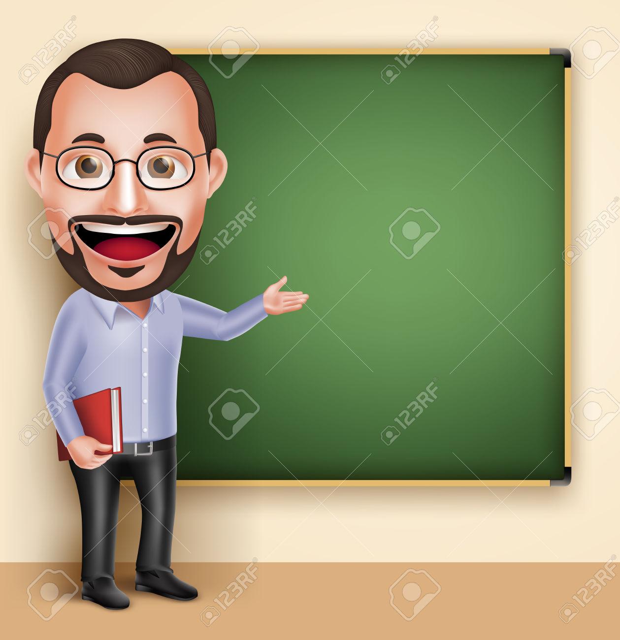 Clipart kindergarten teacher man