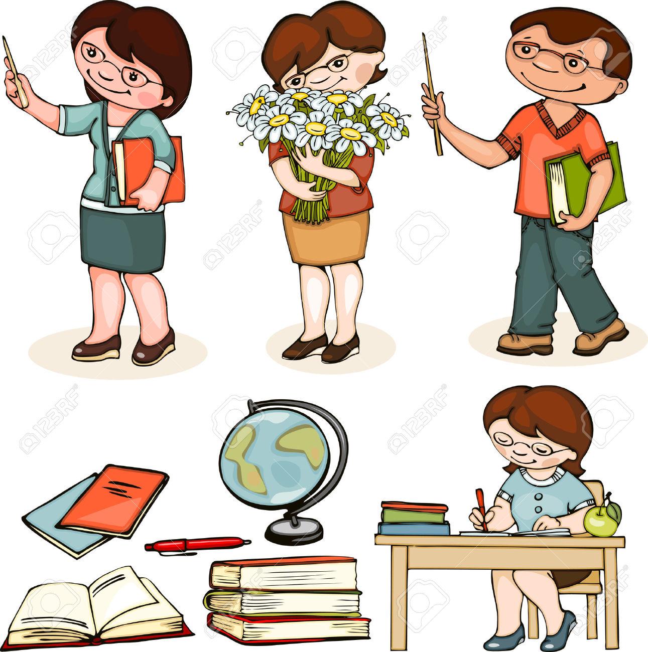 Clipart kindergarten teacher man clip freeuse download 3,446 Kindergarten Teacher S Cliparts, Stock Vector And Royalty ... clip freeuse download