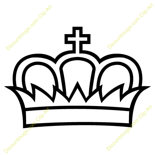Clipart king crown graphic black and white download King And Queen Crowns Clipart | Clipart Panda - Free Clipart Images graphic black and white download