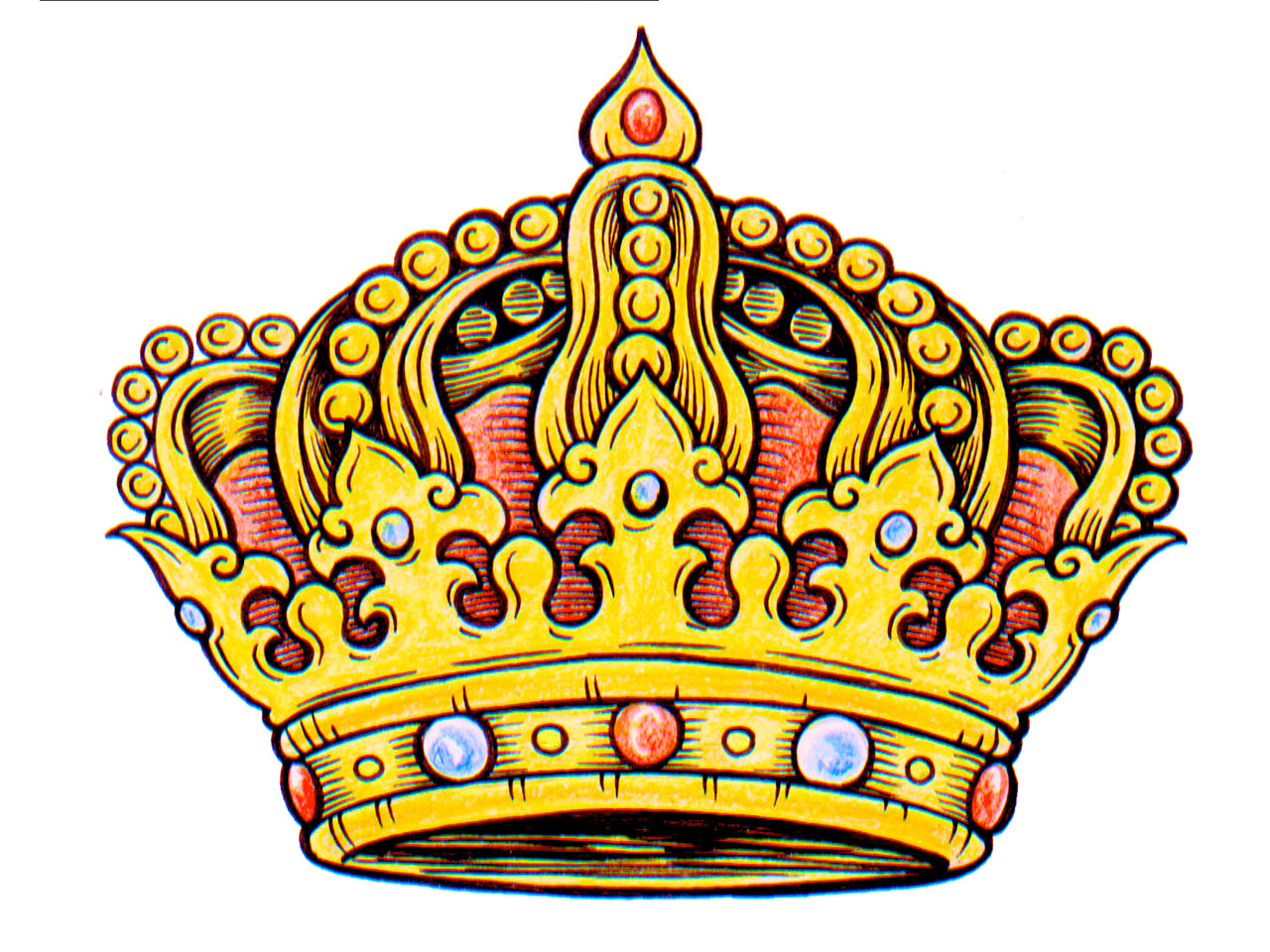 Clipart king crown image royalty free library King crown clip art - ClipartFest image royalty free library