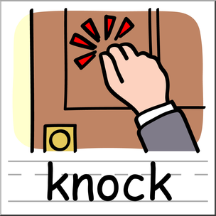 Clipart knock