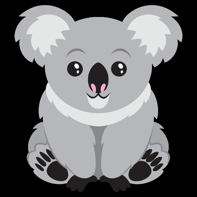 Clipart koalas freeuse library Koala Bear Clip Art This Lovable Koala Clip Art Is | Koala | Cute ... freeuse library