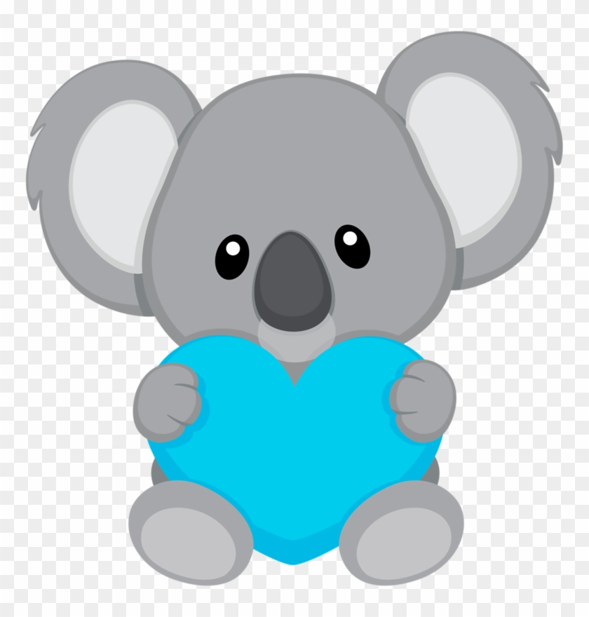 Clipart koalas royalty free Ears Clipart Koala - Koalas Tiernos Para Dibujar, HD Png Download ... royalty free