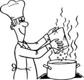 Clipartfest cooking process . Clipart kochen