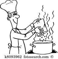 Clipart kochen kostenlos stock Kochen Clipart Lizenzfrei. 133.085 kochen Clip Art Vektor EPS ... stock