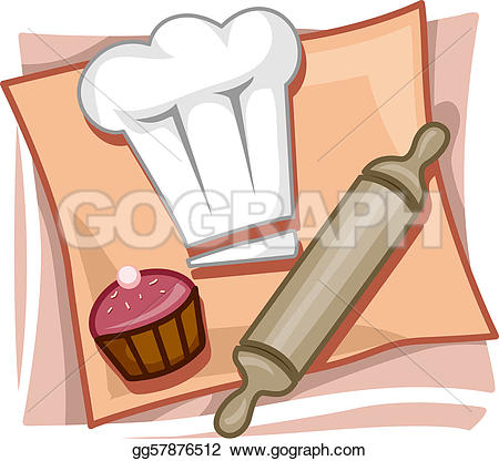 Clipart kochen und backen png royalty free library Pastry Stock Illustrations - Royalty Free - GoGraph png royalty free library