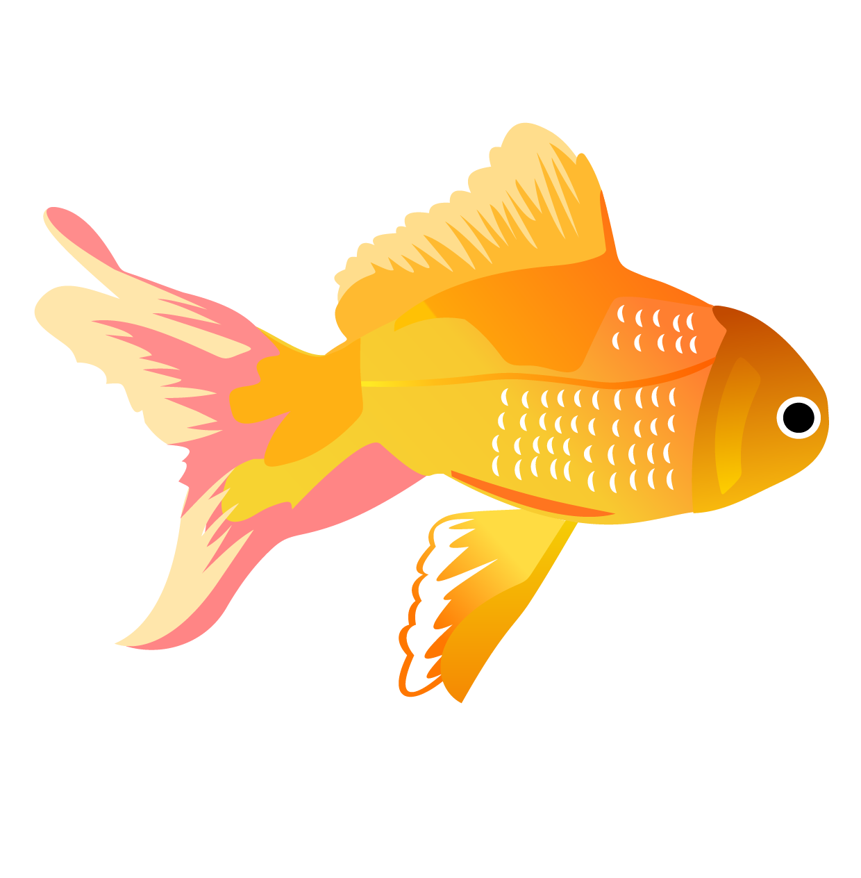 Clipart koi fish png stock Koi Carassius auratus Fish Clip art - Yellow tropical fish 1240*1264 ... png stock