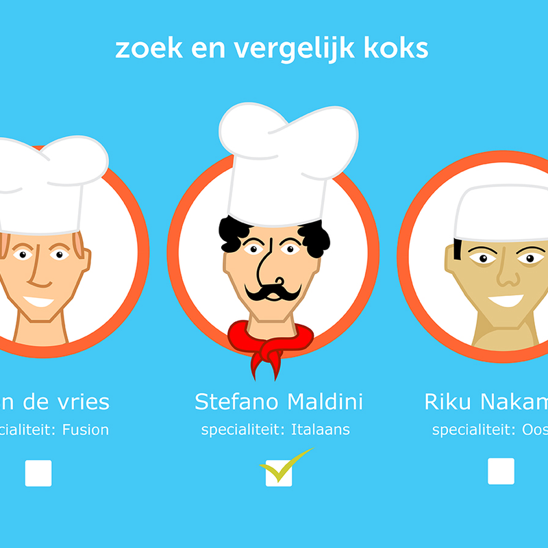 Clipart kok na kan clip stock Kok aan huis | Milledoni - Spot on gifts clip stock
