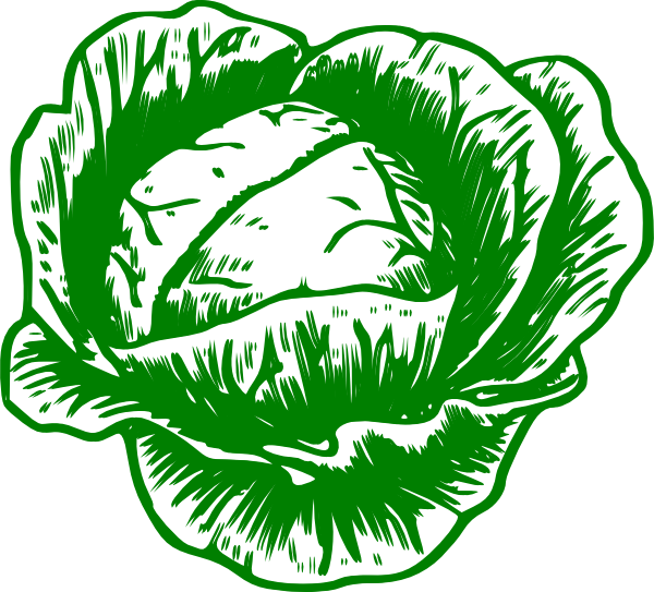 Clipart kol graphic freeuse library Cabbage Mon Petit Clip Art at Clker.com - vector clip art online ... graphic freeuse library