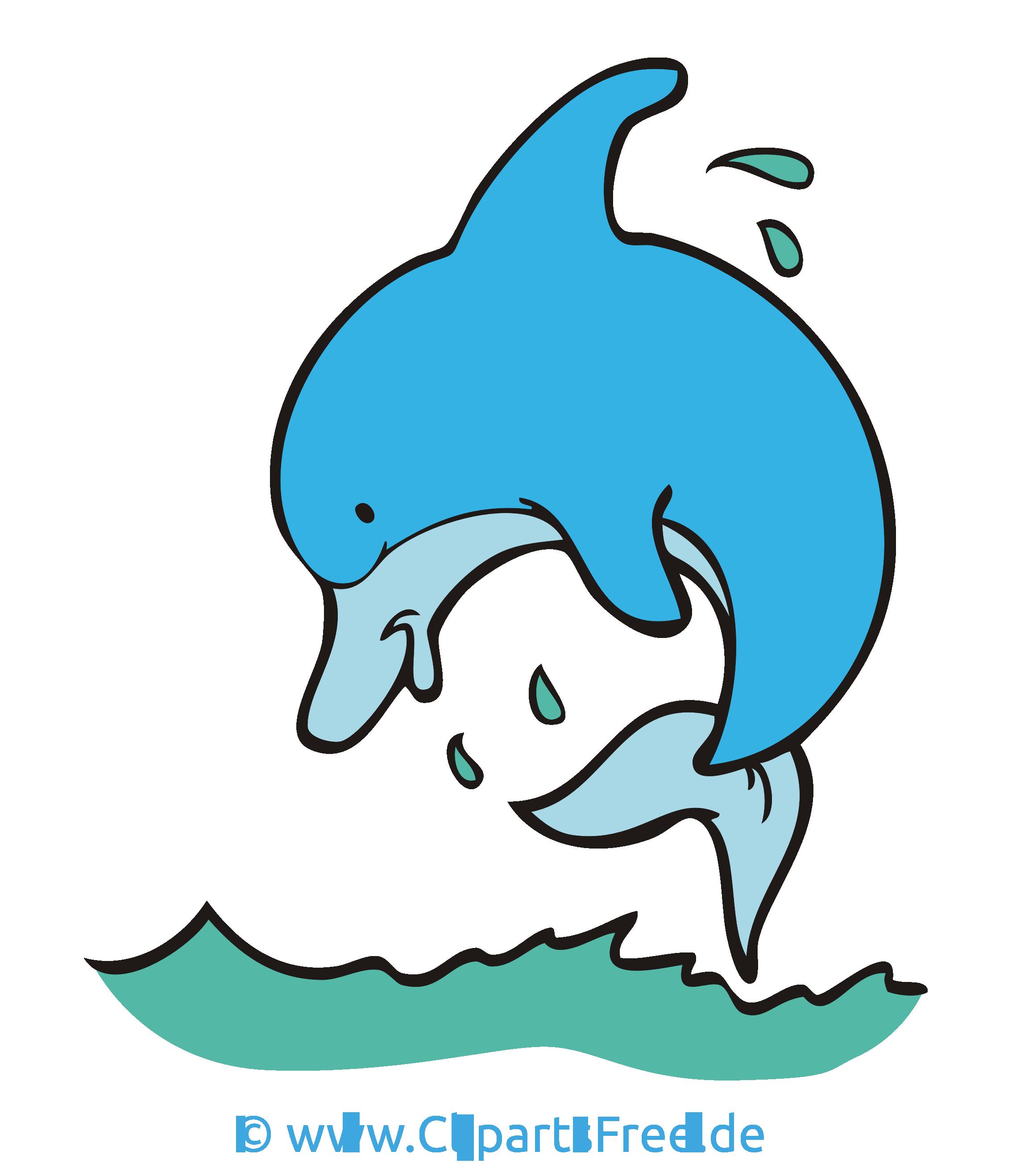 Daumen hoch clipart vector download Delfin Clipart, Bild, Cartoon, Grafik kostenlos vector download