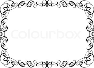 Clipart kostenlos rahmen banner black and white Clipart kostenlos rahmen - ClipartFest banner black and white