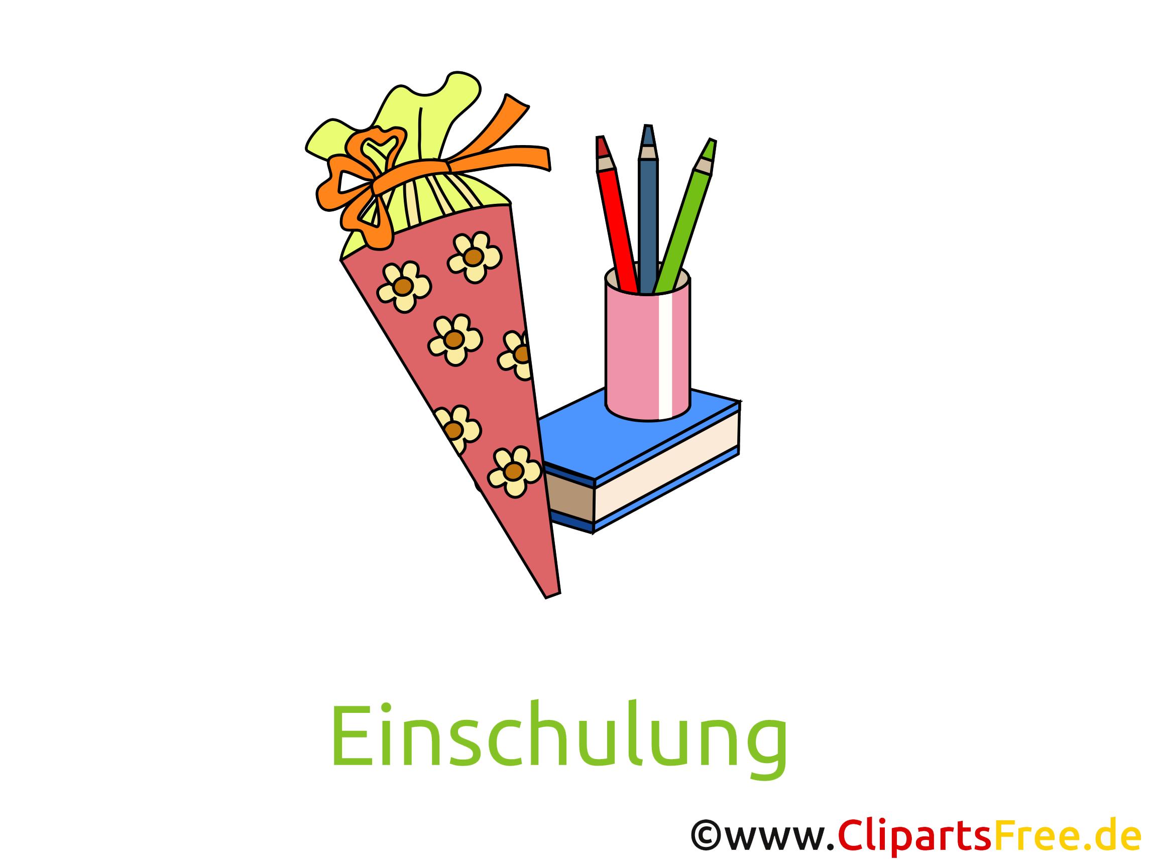 Clipart kostenlos schulanfang picture transparent download Zuckertuete zum Schulanfang picture transparent download