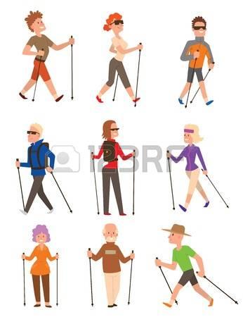 nordic walking stock. Clipart kostenlos sport