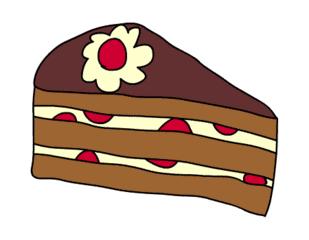 Clipart kuchenstck kostenlos