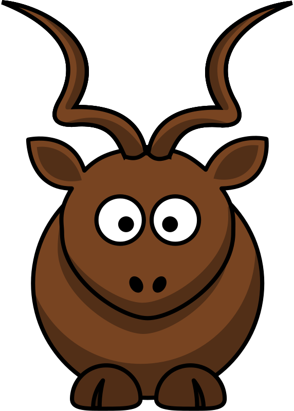 Clipart kudu clipart library download Free Clipart: Cartoon kudu | Martouf clipart library download