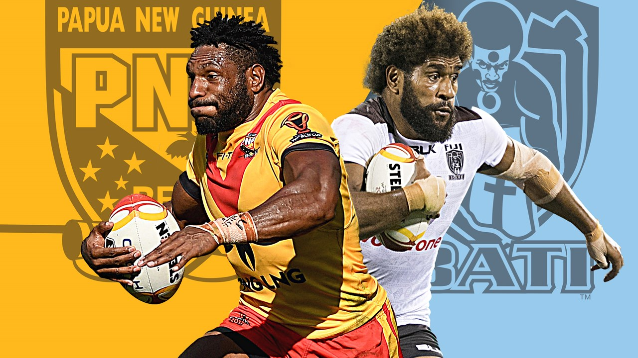 Clipart kumuls vs kangaroos vector library Papua New Guinea v Fiji preview: Pacific Test Invitational - NRL vector library